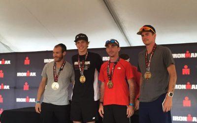 Jérémie remporte le Ironman 70.3 chez les 18-24 !
